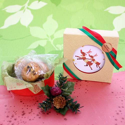 クリスマス クッキーラッピング