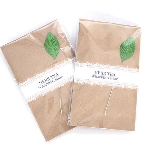 ナチュラルな紅茶・ハーブティのプチギフト