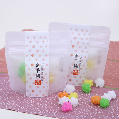 かわいいな和菓子のプチギフト