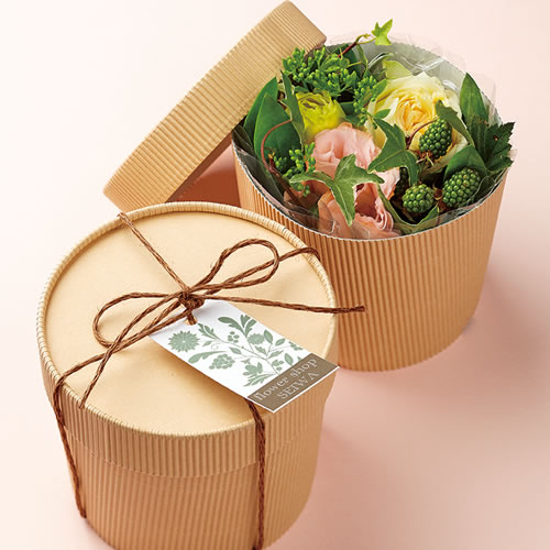 花束 ラッピング フラワーボックス