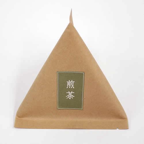 ナチュラルなお茶のパッケージ