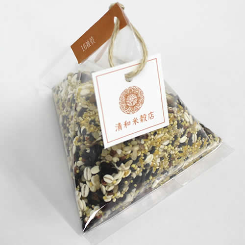 テトラ型 パッケージ 透明 雑穀 ×150g